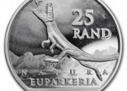 2019 silver south africa natura euparkeria bu coin
