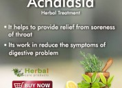Herbal supplement for achalasia