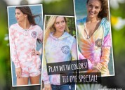 Don't miss out these tie dyed hoodies collection