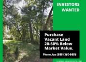 Land wholesaler w/ discounted properties seeking i