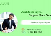 Quickbooks payroll support toll-free 18002805068