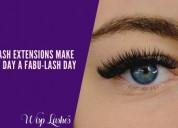 Eyelash extensions make every day a fabu-lash day!