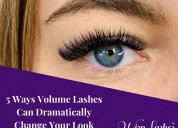 5 ways volume lashes can dramatically change your
