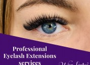 Professional eyelash extensions services in knoxvi