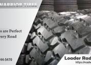 Loader radial tires