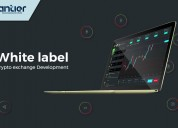 Build high-secure white label crypto exchange