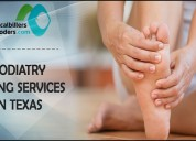 Podiatry billing services in texas, tx