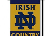 Ncaa notre dame fighting irish 2-sided country gar