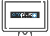 Website development with amplus agency.