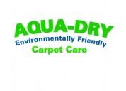 Aqua-dry carpet care
