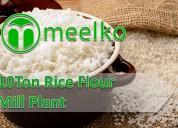 Plant of rice flour mill 10ton buy now !
