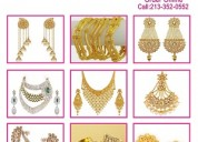 Gold plated jewelry/indian jewelry