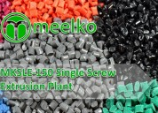 Mksle-150 single screw extrusion plant eeuu