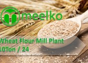 Wheat flour mill plant 10ton / 24h