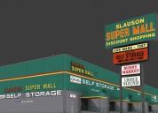 Shopping mall in california
