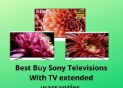 Best buy sony televisions with tv extended warrant