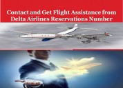 Delta airlines reservations - services at the peak