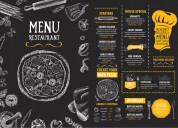 Menu design service by the industry-best experts
