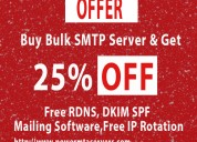 Buy smtp bulk email server hosting