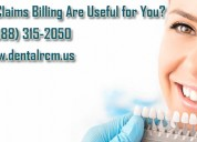 Why dental claims billing are useful for you?
