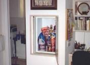 Residential dumbwaiter elevator installation