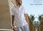 Get mens tipped collar shirts - exist inc.