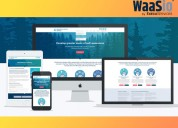 Affordable fresh, modern websites that auto-update
