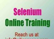 Selenium online training at siliconspec