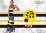 Premium quality ladies sleeveless maxi dress