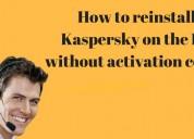 Hoe kaspersky opnieuw op de pc te installeren zon