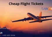 Cheap flight tickets trek nova booking engine book
