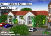 architectural/mechanical animation services