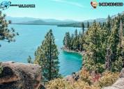 Enjoy hiking trails in north california