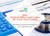 Hire medical billers and coders for error free cod