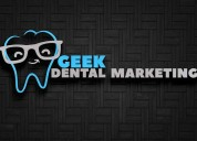 Geek dental marketing is a full dental marketing a