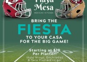 Playa mesa brings you the exciting offer!