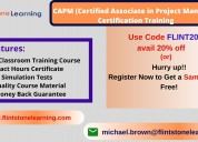 Capm certification training in boston, ma