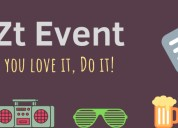 Online event ticketing platform - juztevent.