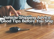 Vehicle shipping | auto transport