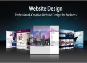 Get professional website design & development serv