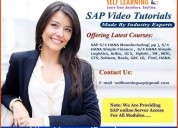 Sap all modules video classes are available