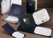 Buy award covers, custom graduation cords, paper c