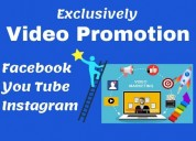 I will do organic youtube video promotion to activ