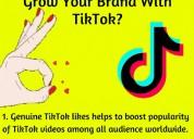 Buy tiktok likes to boost your tiktok video