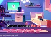 Music licensing for tv