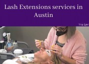 Lash extensions services in austin - wisp lashes