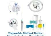 Disposable medical device manufacturing