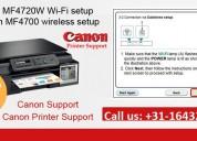 Canon mf4720w wi-fi-installatie en mf4700 draadlo