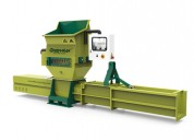 Polystyrene foam recycling by using machine a-c200