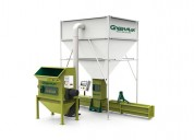 Polystyrene recycling by using machine a-c300